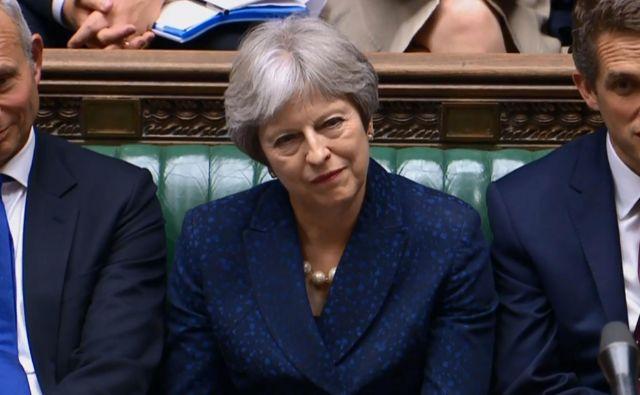 Za britansko premierko Thereso May je naporen teden. FOTO: AFP