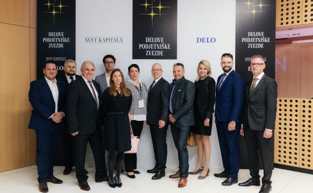 Prvotni izbor 115 podjetij, kandidatov za Delovo podjetniško zvezdo, je žirija pretresla in neusmiljeno skrčila seznam na deset finalistov. Čestitke vsem! FOTO: Žiga Intihar