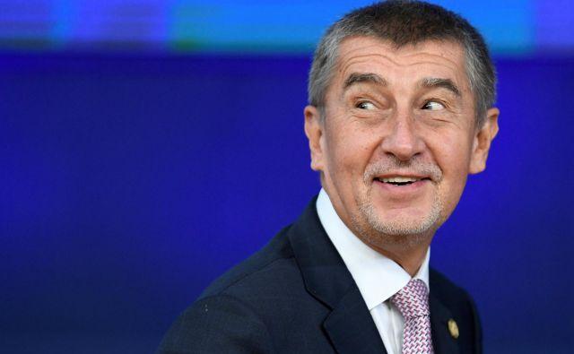 Po podatkih ameriške revije<em> Forbes</em> je češki predsednik vlade Andrej Babiš z okoli 3,3 milijarde evrov premoženja drugi najbogatejši človek v državi. Foto: Piroschka Van De Wouw/Reuters