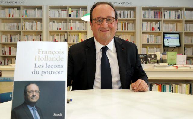 Nekdanji predsednik François Hollande FOTO: Reuters