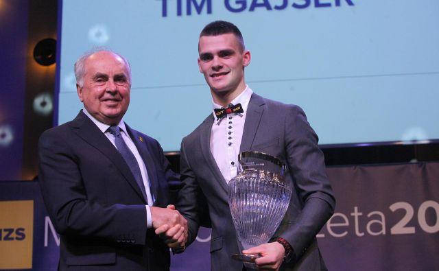 Nekdanji svetovni prvak Tim Gajser je spet postal dirkač leta. FOTO: Mavric Pivk/Delo