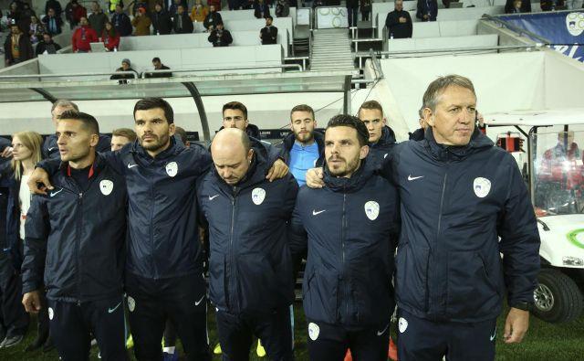 Igor Benedejčič (desno) bo vodil Slovenijo le še na tekmi v Sofiji. FOTO: Jože Suhadolnik