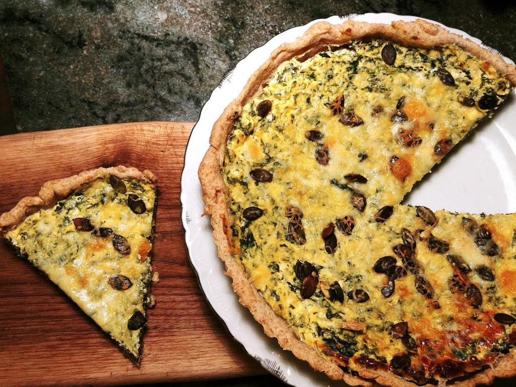 Poletov recept: Špinačno sirova pita