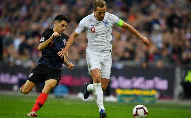 Harry Kane je popeljal Anglijo na zaključni turnir. FOTO: AFP