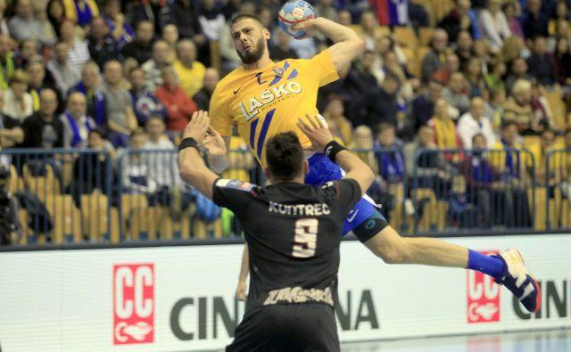 Branko Vujović je bil najboljši strelec Celjanov s sedmimi zadetki. FOTO: Roman Šipić/Delo