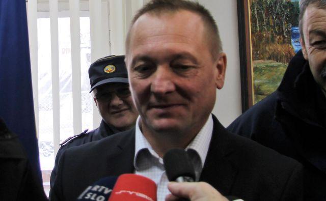 Franjo Naraločnik, župan Ljubnega. FOTO: Brane Piano/Delo