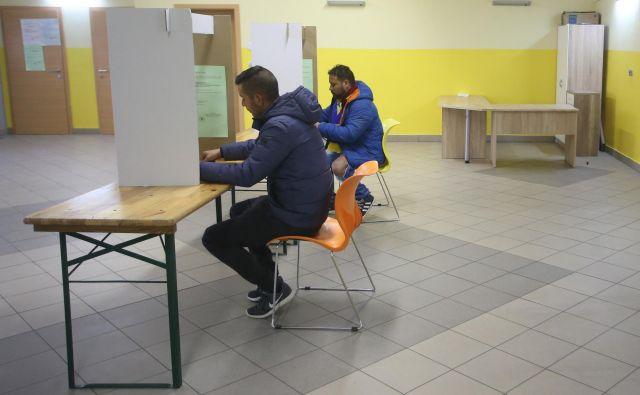 Lokalne volitve 2018 v romski občini. FOTO: Tadej Regent