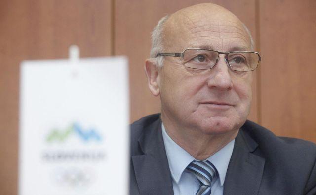 Bogdan Gabrovec je edini kandidat na volitvah predsednika OKS, ki bodo 16. decembra v hotelu Union. FOTO: Mavric Pivk/Delo