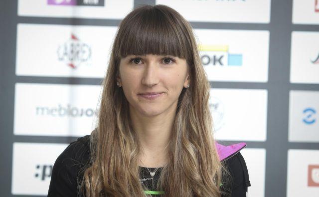 Polona Batagelj obljublja, da bo ostala povezana s kolesarstvom. FOTO: Jože Suhadolnik/Delo
