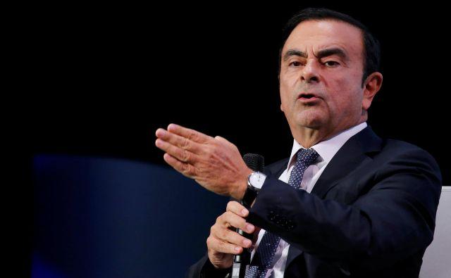 Carlos Ghosn. Foto Reuters