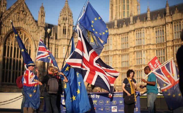 Največja negotovost je glede tega, ali bo ločitveni sporazum odobren v Londonu. FOTO: Jure Eržen/DELO