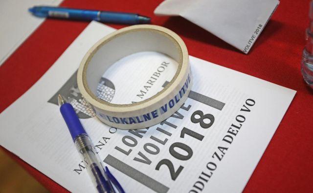Udeležba je bila nekoliko višja kot na zadnjih volitvah leta 2014. FOTO: Tadej Regent