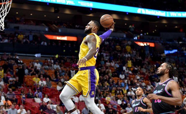 LeBron James je bil v Miamiju neustavljiv. FOTO: Reuters