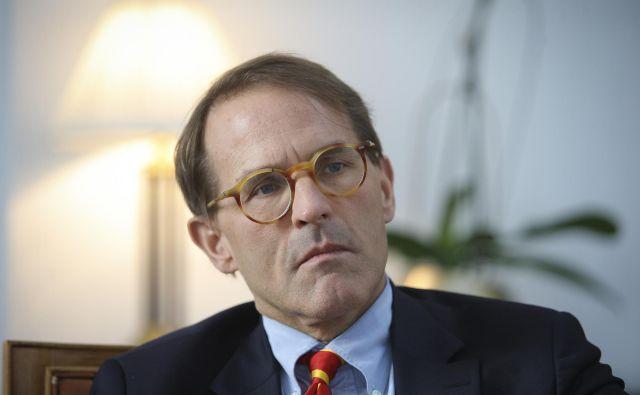 Slovenija je po besedah Matthewa Boysea sprejela civilizacijsko odločitev, ko se je pridružila EU in zvezi Nato. Foto Jože Suhadolnik