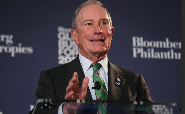 Nekdanji župan New Yorka si je študij lahko privoščil le z visokim posojilom in delom v kampusu. FOTO: Reuters