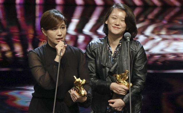 Režiserka Fu Yue (na fotografiji levo) je sprožila novo zaostrovanje med Tajvanom in Kitajsko, ki ima otok za svojo odpadniško provinco. FOTO: AP