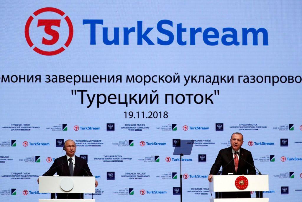 Turški tok ruskega vpliva
