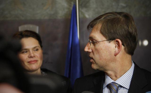 Bivši premier obsoja ravnanje infrastrukturne ministrice, ki želi iz projekta drugi tir umakniti Madžare. FOTO: Uroš Hočevar/Delo