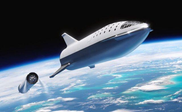 BFR je zdaj Starship. FOTO: SpaceX