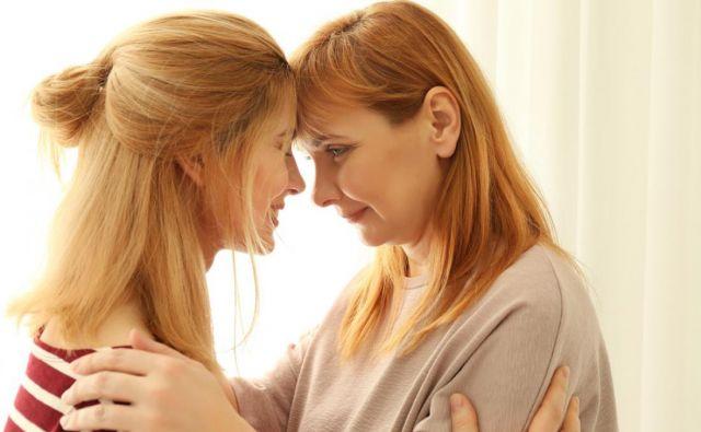 Kakšen je vaš odnos z mamo? Foto Shutterstock