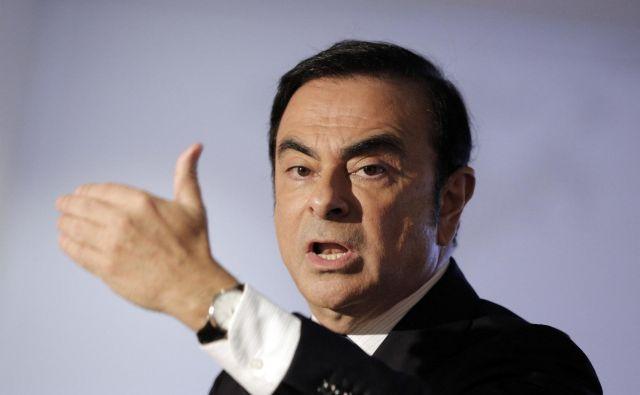 Carlos Ghosn ne bo več vsemogočni šef Renaulta. FOTO:Christophe Ena/AP