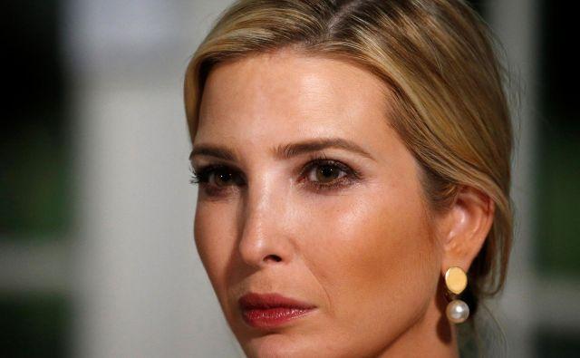 Pravni zastopnik Ivanke Trump je poudaril, da se Ivanka ni zavedala prepovedi uporabe zasebnega elektronskega naslova. FOTO: Reuters