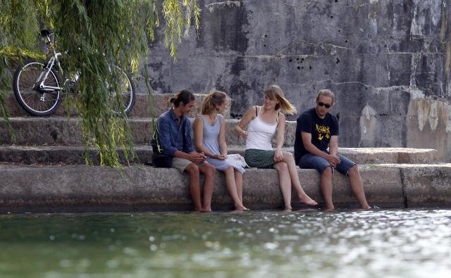 V skladu s predvidenim postopnim segrevanjem ozračja po svetu, bomo tudi na področju Slovenije podvrženi naraščanju temperatur. FOTO: Tomi Lombar/delo