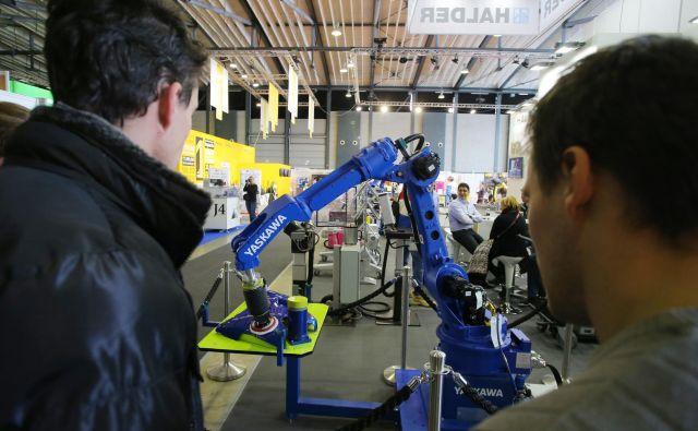 Yaskawa bo kmalu začela proizvodnjo industrijskih robotov v Kočevju. Foto Jože Suhadolnik