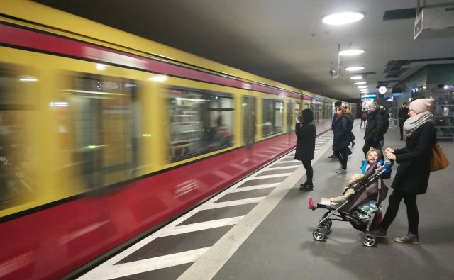 Berlin ima zelo dobro razvejeno mrežo javnega prevoza. FOTO: Mitja Felc