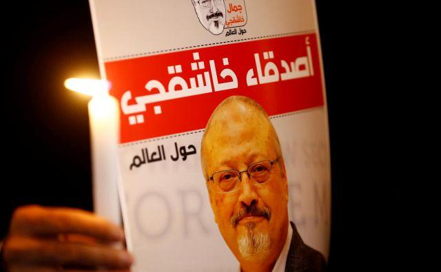 Savdska Arabija zavrača obtožbe, da je novinarjev umor naročil prestolonaslednik. FOTO: Osman Orsal/Reuters