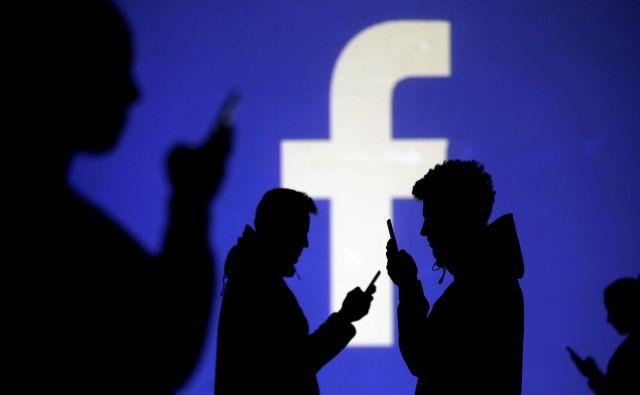 Facebook noče plačati pol milijona funtov. FOTO: Reuters
