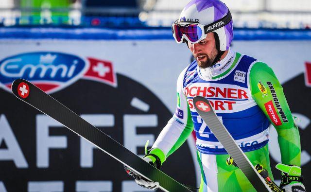 Martin Čater je edini slovenski smukač, ki bo v sezono štartal kot član trideseterice. FOTO: Sergei Belski/Usa Today Sports