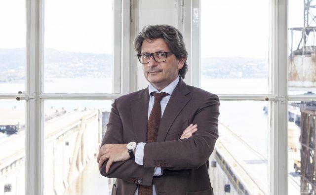 Zeno D'Agostino, predsednik italijanskega pristaniškega sistema vzhodnega Jadrana. FOTO: arhiv Uprave Pristanišča Trst