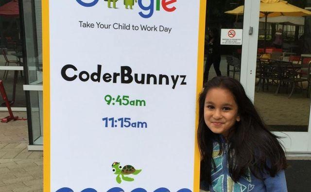 Samaira Mehta je trdno prepričana, da je obvladanje računalnika najboljša naložba v prihodnost. FOTO: coderbunnyz/facebook