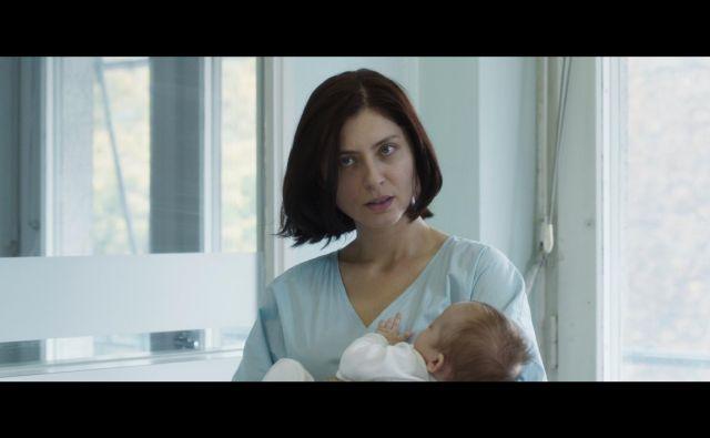 Judita Franković Brdar je za vlogo Ane v Izbrisani prejela vesno na letošnjem Festivalu slovenskega filma.. FOTO: SFC