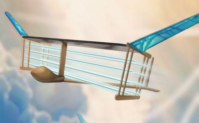 Letalo na ionski pogon. FOTO: Christine Y. He