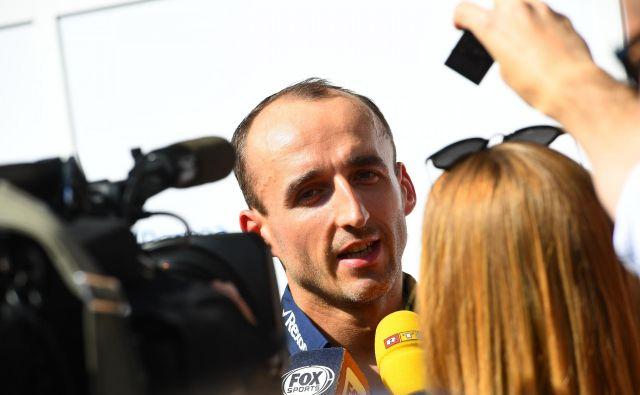 Robert Kubica se v F1 vrača po devetih letih. FOTO: Giuseppe Cacace/AFP