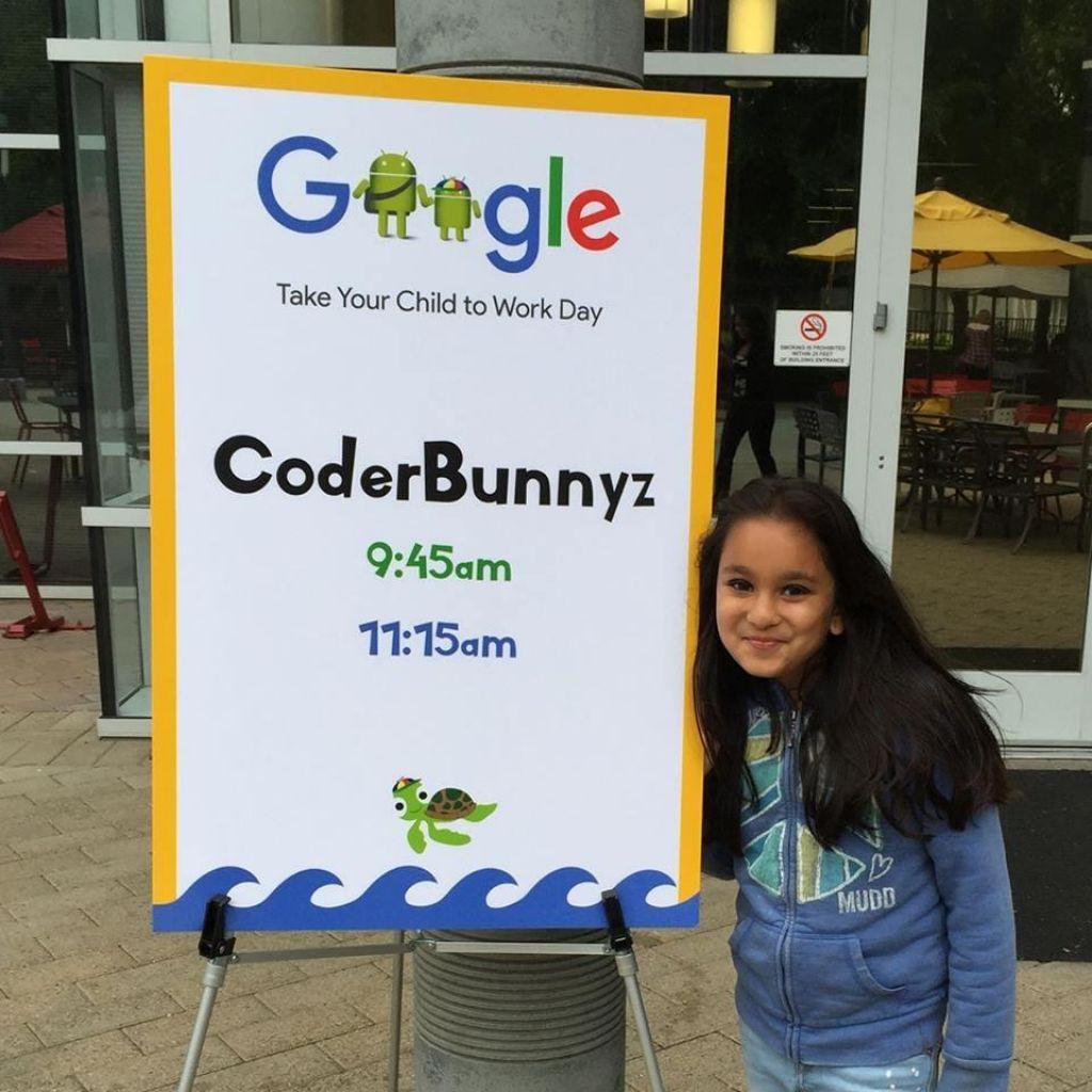 Pri šestih začela programirati, pri desetih ji Google obljublja službo