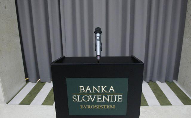 Mesto prvega človeka Banke Slovenije je prazno že sedmi mesec. Foto Leon Vidic