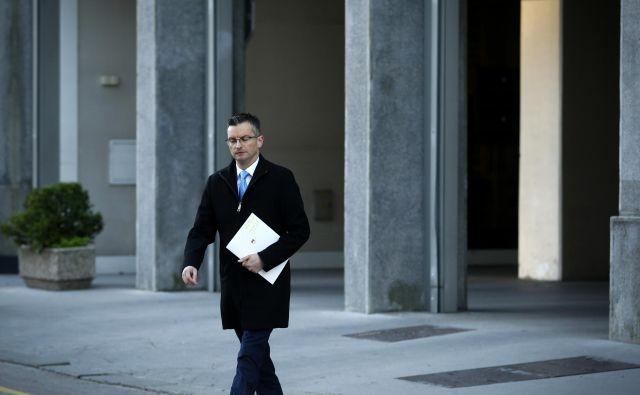 Več dela kot z opozicijo ima premier z vsemi partnericami. FOTO: Matej Družnik/Delo