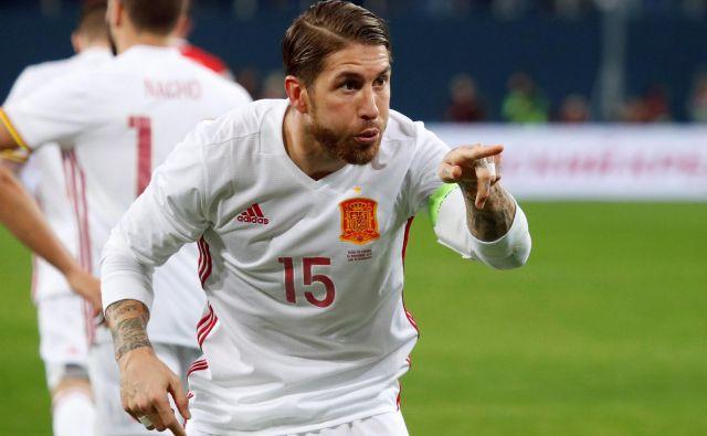Sergio Ramos se je znašel v dopinškem prestopku, a se UEFA ni zganila. FOTO: Maksim Šemetov/Reuters