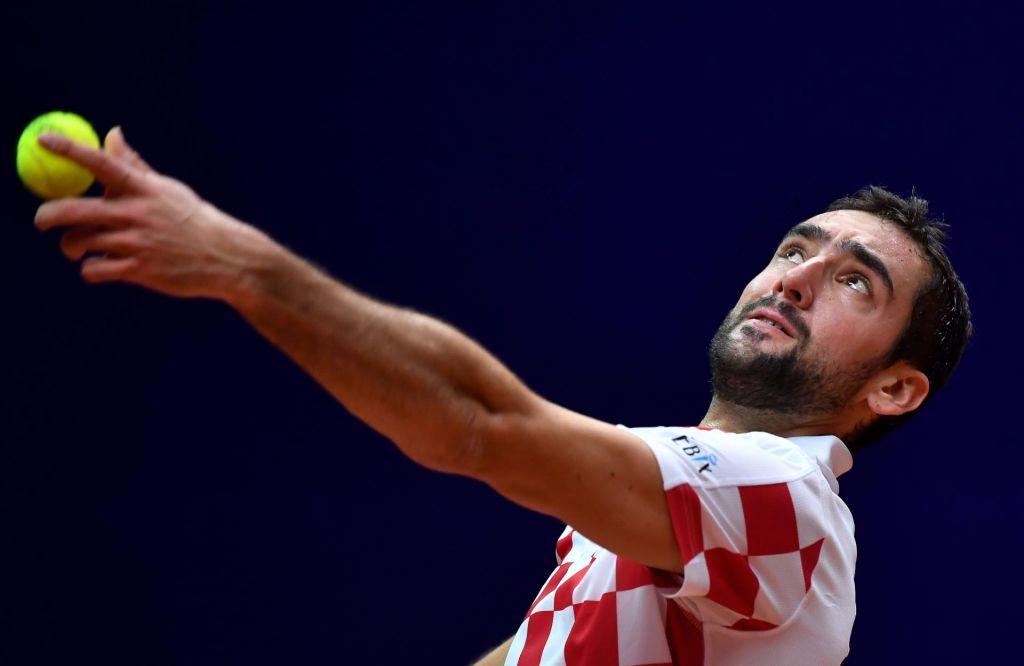 FOTO:Hrvaška sanjsko začela finale Davisovega pokala (VIDEO)