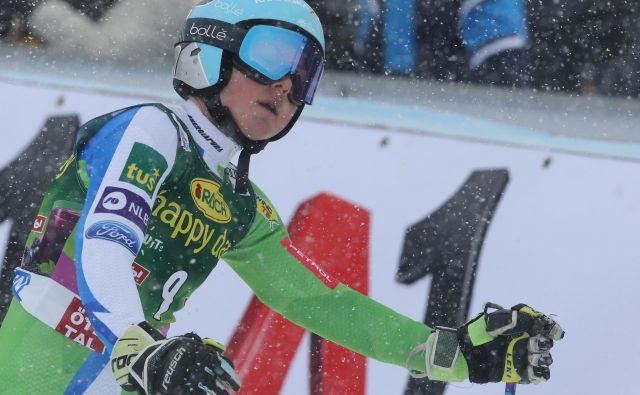 Meta Hrovat je trenutno prvo ime slovenske reprezentance. FOTO: Tomi Lombar/Delo