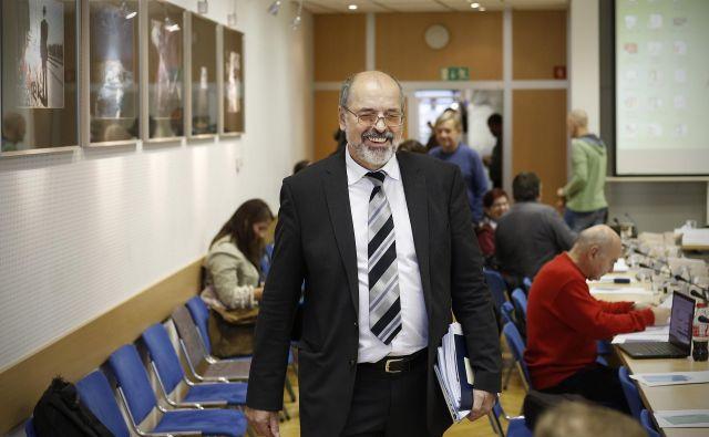 Generalni direktor Igor Kadunc je doslej uspešno odbil vse napade. FOTO: Blaž� Samec/Delo