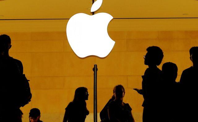 Apple ni več ljubljenec borze. Foto Reuters