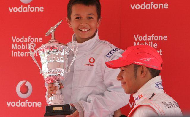 Alexander Albon je nekdanji svetovni prvak v kartingu. FOTO: Andrew Boyers/Reuters