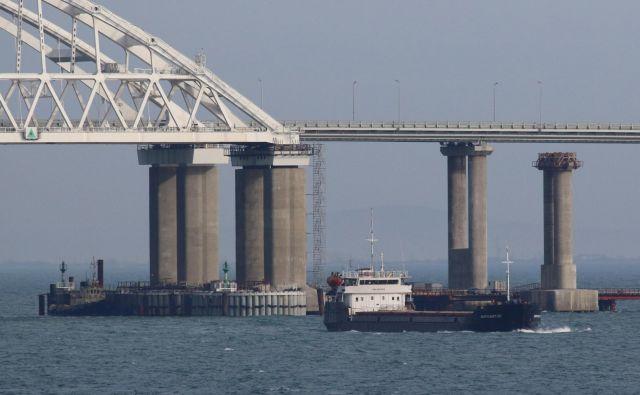 Kijevu in Moskvi doselj ni uspelo določiti meje na morju. Foto: Reuters