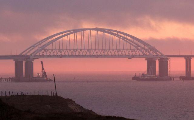 Krimski most nad Kerško ožino.Foto: Pavel Rebrov/Reuters