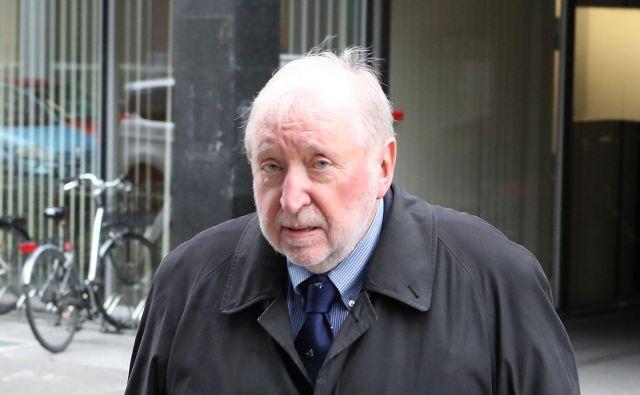 Dimitrij Rupel policistove očitke zavrača. FOTO: Dejan Javornik