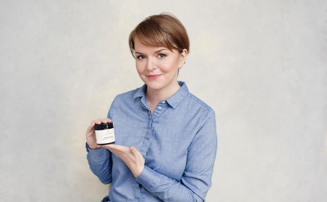 Samostojna podjetnica na Nizozemskem Karmen Novak je pred pol leta na trgu predstavila naravno kozmetiko Flower and spice. FOTO: osebni arhiv